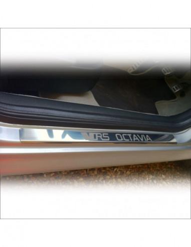 NISSAN PRIMASTAR MK1 PRIMASTAR Stainless Steel 304 Mirror Finish Interior Door sills kick plates
