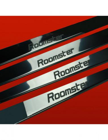 CHRYSLER 300C MK1 SRT8 Stainless Steel 304 Mirror Finish Interior Door sills kick plates