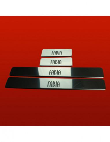 VW GOLF MK6 GTI Stainless Steel 304 Mirror Finish Interior Door sills kick plates