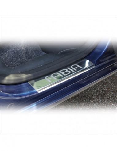 OPEL/VAUXHALL INSIGNIA A OPC Stainless Steel 304 Mirror Finish Interior Door sills kick plates