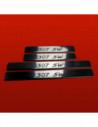 AUDI A4 B6 QUATTRO Stainless Steel 304 Mirror Finish Interior Door sills kick plates