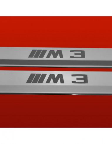 BMW 5 SERIES F10/F11 M5 Stainless Steel 304 Mirror Finish Interior Door sills kick plates
