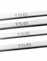 AUDI A1 8X SLINE Stainless Steel 304 Mirror Finish Interior Door sills kick plates