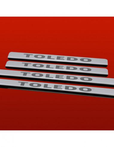 CITROEN BERLINGO MK1 BERLINGO Stainless Steel 304 Mirror Finish Interior Door sills kick plates
