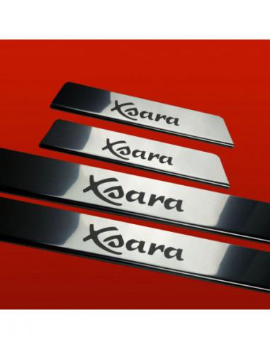 CITROEN BERLINGO MK2 BERLINGO Stainless Steel 304 Mirror Finish Interior Door sills kick plates