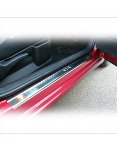 CITROEN C4 MK1 C4 Stainless Steel 304 Mirror Finish Interior Door sills kick plates
