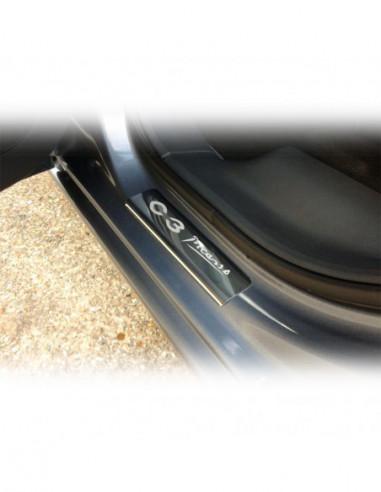 CITROEN C3 MK1 C3 Stainless Steel 304 Mirror Finish Interior Door sills kick plates
