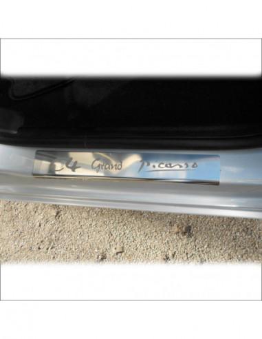 CITROEN C5 MK1 C5 Stainless Steel 304 Mirror Finish Interior Door sills kick plates
