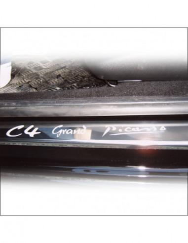 CITROEN C5 MK2 C5 Stainless Steel 304 Mirror Finish Interior Door sills kick plates