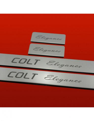 ALFA ROMEO GIULIETTA  SPORTIVA Stainless Steel 304 Mirror Finish Interior Door sills kick plates