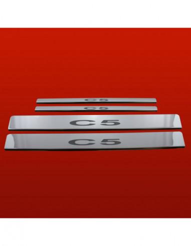 CITROEN C2  C2 Stainless Steel 304 Mirror Finish Interior Door sills kick plates