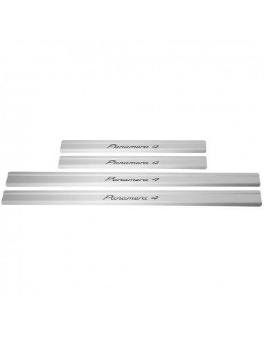 AUDI A4 B8 A4 Stainless Steel 304 Mirror Finish Interior Door sills kick plates
