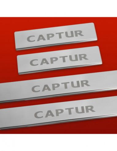 DACIA LOGAN MK1 LOGAN Stainless Steel 304 Mirror Finish Interior Door sills kick plates