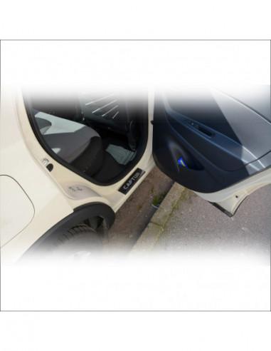 DAEWOO MATIZ  MATIZ Stainless Steel 304 Mirror Finish Interior Door sills kick plates