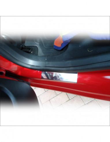 DODGE CALIBER CALIBER Stainless Steel 304 Mirror Finish Interior Door sills kick plates