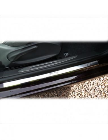FIAT MAREA MAREA Stainless Steel 304 Mirror Finish Interior Door sills kick plates
