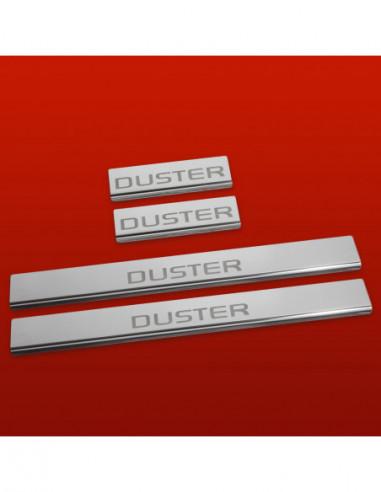 FIAT 500 500 Stainless Steel 304 Mirror Finish Interior Door sills kick plates