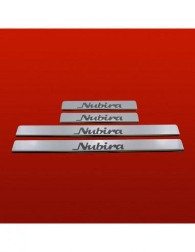 FIAT PUNTO MK2 PUNTO Stainless Steel 304 Mirror Finish Interior Door sills kick plates