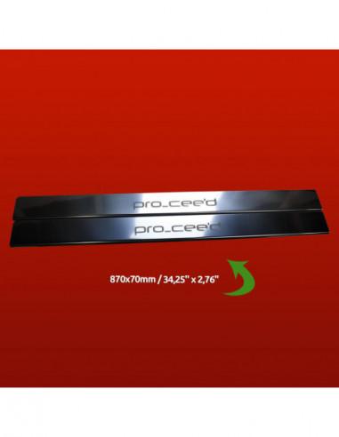 FIAT BRAVA  BRAVA Stainless Steel 304 Mirror Finish Interior Door sills kick plates
