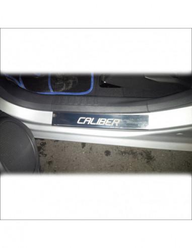 SUBARU IMPREZA MK3 STI COSWORTH Stainless Steel 304 Mirror Finish Interior Door sills kick plates