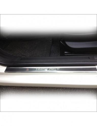 FORD FOCUS MK3 FOCUS Stainless Steel 304 Mirror Finish Interior Door sills kick plates
