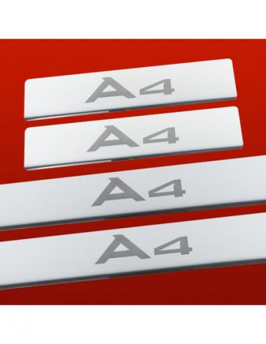 AUDI A6 C5 SLINE Stainless Steel 304 Mirror Finish Interior Door sills kick plates
