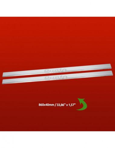 FORD FOCUS MK3 ZETEC Stainless Steel 304 Mirror Finish Interior Door sills kick plates