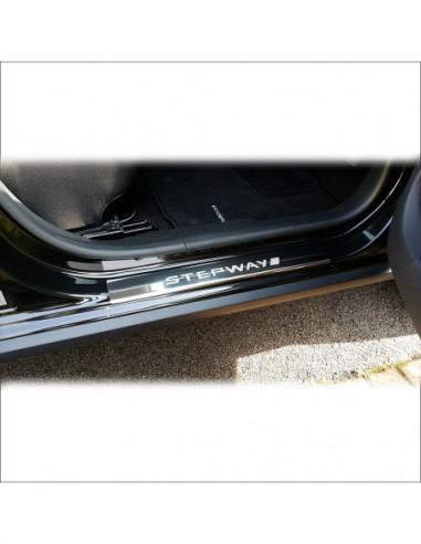 FORD FOCUS MK2 FOCUS Stainless Steel 304 Mirror Finish Interior Door sills kick plates