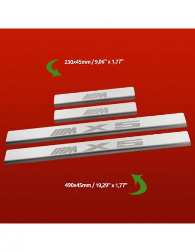 FORD FOCUS MK1 FOCUS Stainless Steel 304 Mirror Finish Interior Door sills kick plates