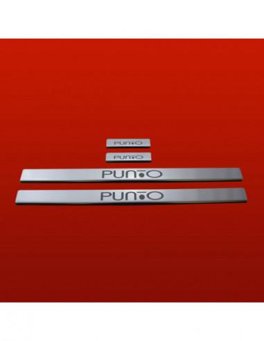 FORD FIESTA MK7 FIESTA Stainless Steel 304 Mirror Finish Interior Door sills kick plates