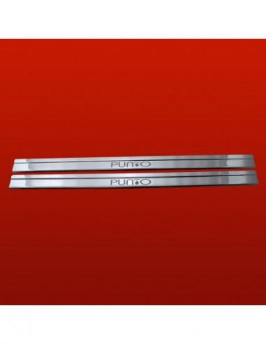 FORD FIESTA MK7 FIESTA RS Stainless Steel 304 Mirror Finish Interior Door sills kick plates