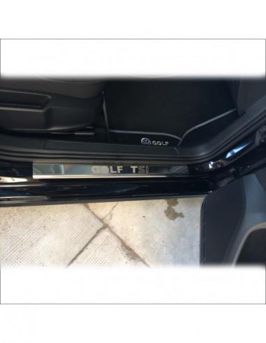 ALFA ROMEO MITO MITO S Stainless Steel 304 Mat Finish Interior Door sills kick plates