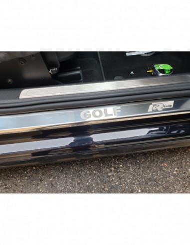 ALFA ROMEO GIULIETTA  GIULIETTA Stainless Steel 304 Mat Finish Interior Door sills kick plates