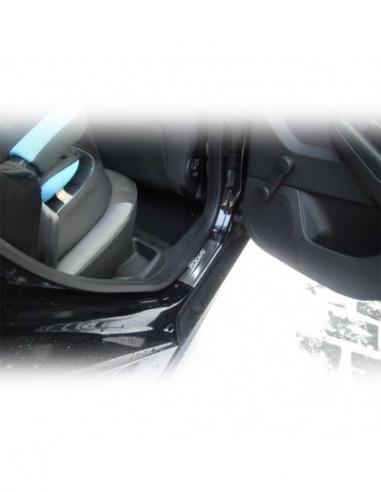 FORD ESCORT MK7 ESCORT Stainless Steel 304 Mirror Finish Interior Door sills kick plates