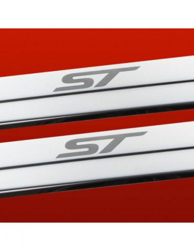 FIAT PUNTO MK2 ABARTH Stainless Steel 304 Mirror Finish Interior Door sills kick plates