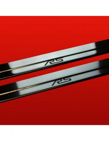 HONDA CIVIC MK8 CIVIC Stainless Steel 304 Mirror Finish Interior Door sills kick plates