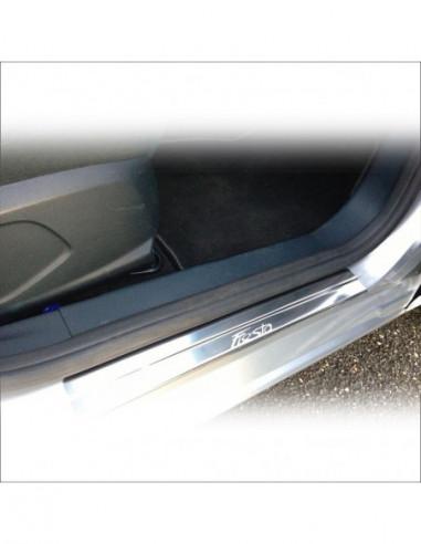 HYUNDAI I20 MK1 I20 Stainless Steel 304 Mirror Finish Interior Door sills kick plates