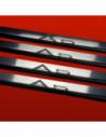 AUDI A3 8P A3 Stainless Steel 304 Mirror Finish Interior Door sills kick plates