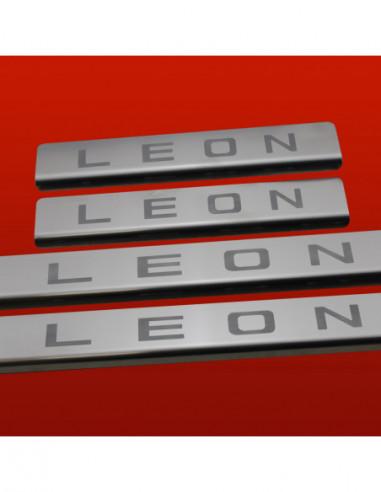 LEXUS GS MK2 GS 300 Stainless Steel 304 Mirror Finish Interior Door sills kick plates