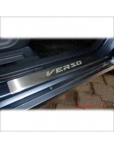 MERCEDES CLK W208 AMG Stainless Steel 304 Mirror Finish Interior Door sills kick plates