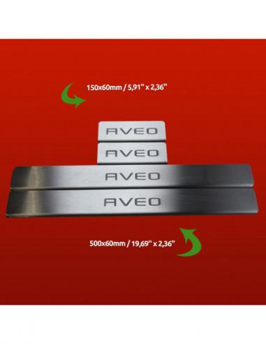 MERCEDES C W202 AMG Stainless Steel 304 Mirror Finish Interior Door sills kick plates