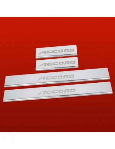 MERCEDES A W168 AMG Stainless Steel 304 Mirror Finish Interior Door sills kick plates